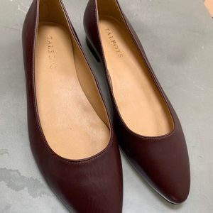 Talbots POPPY POINTED TOE BALLET FLATS  Leather